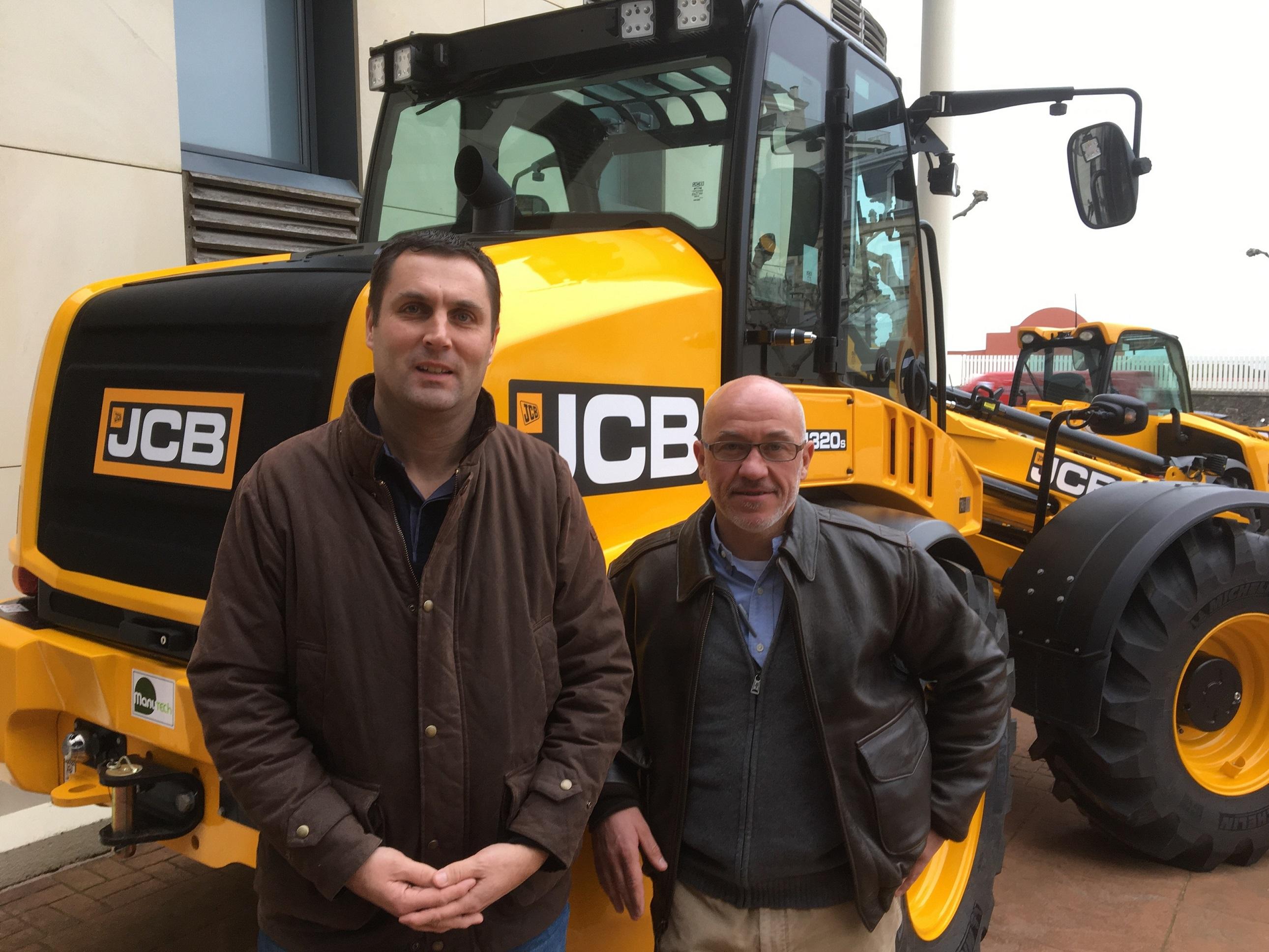 Depussay va distribuer la gamme JCB Agri sur un territoire étendu