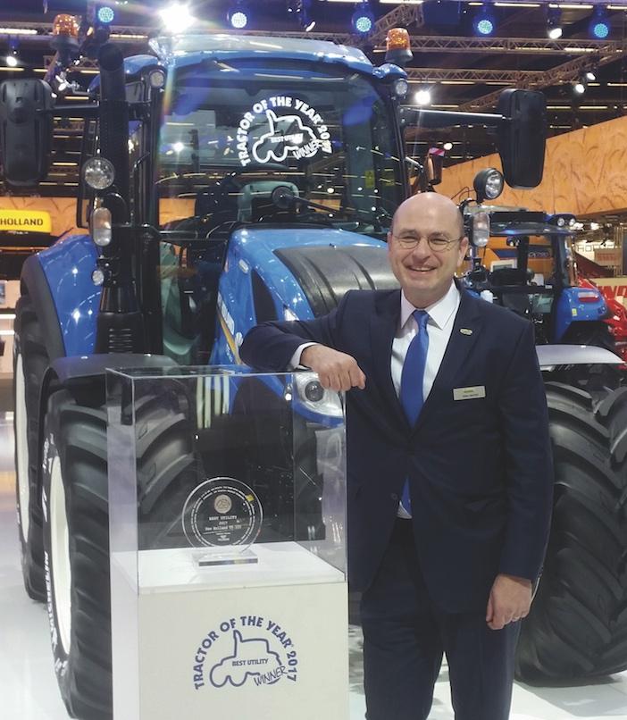 New Holland Agriculture: nouvelle nomination à la tête du marché français