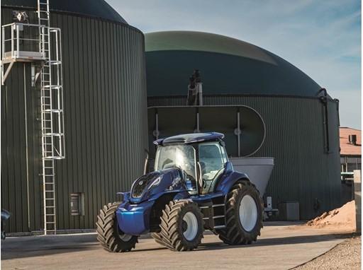 New Holland révèle un nouveau concept de tracteur au biométhane