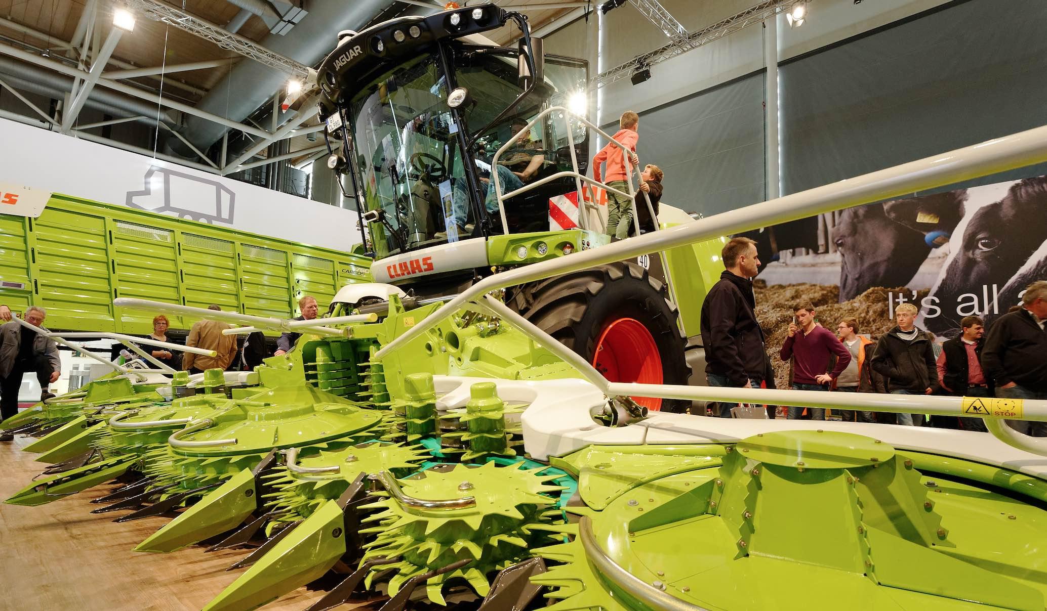 Claas et Kemper honorés à l'Agritechnica