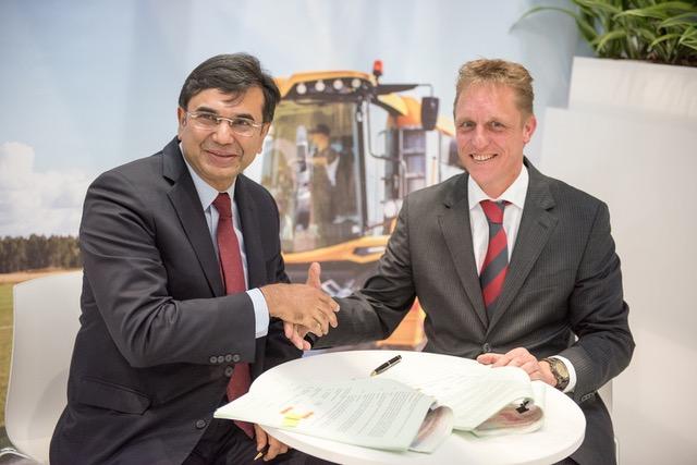 Partenariat indien entre Dewulf et Mahindra