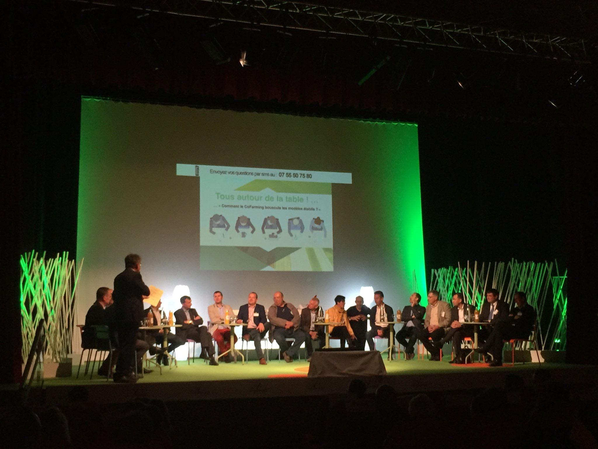 Le CoFarming a l'honneur du 1er Forum Agroéquipement