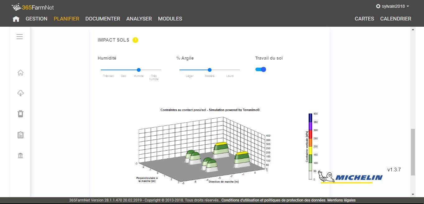 Michelin intègre la plateforme 365FarmNet via une application dédiée au calcul de la pression des pneus