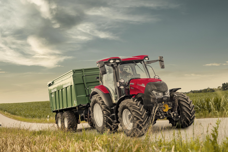 Case IH renomme ses tracteurs de 100-130 ch avec transmission CVXDrive