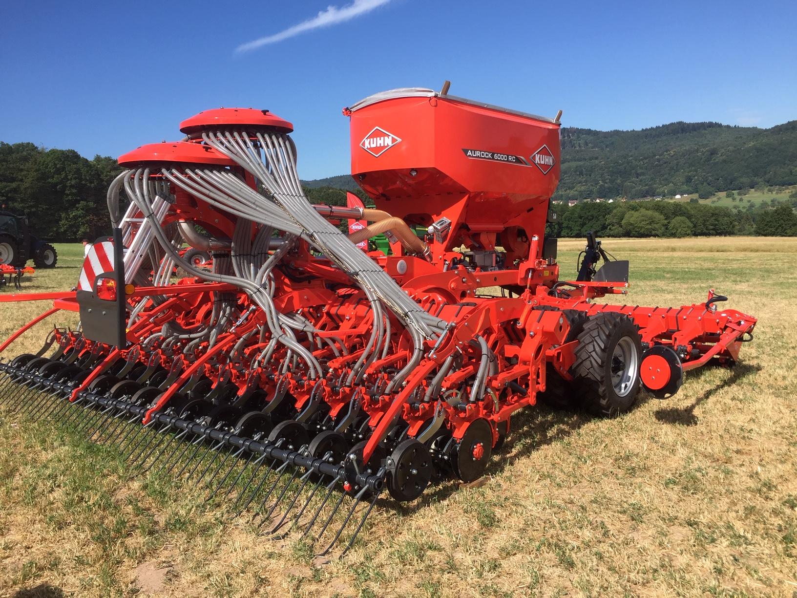 Le nouveau Aurock 6000 RC pour les semis en toutes conditions