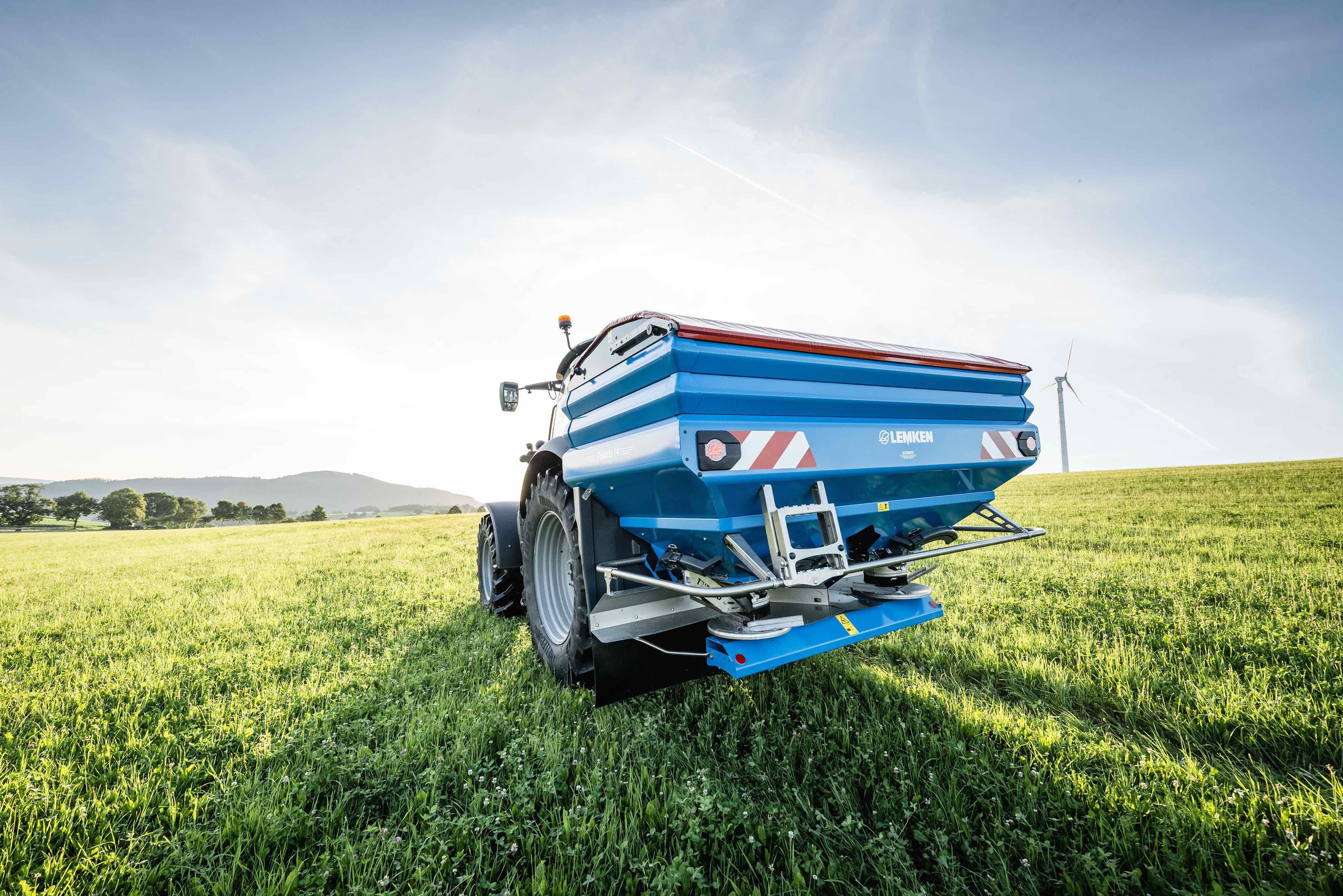 Lemken distribuera des distributeurs d'engrais Sulky dans plusieurs pays européens