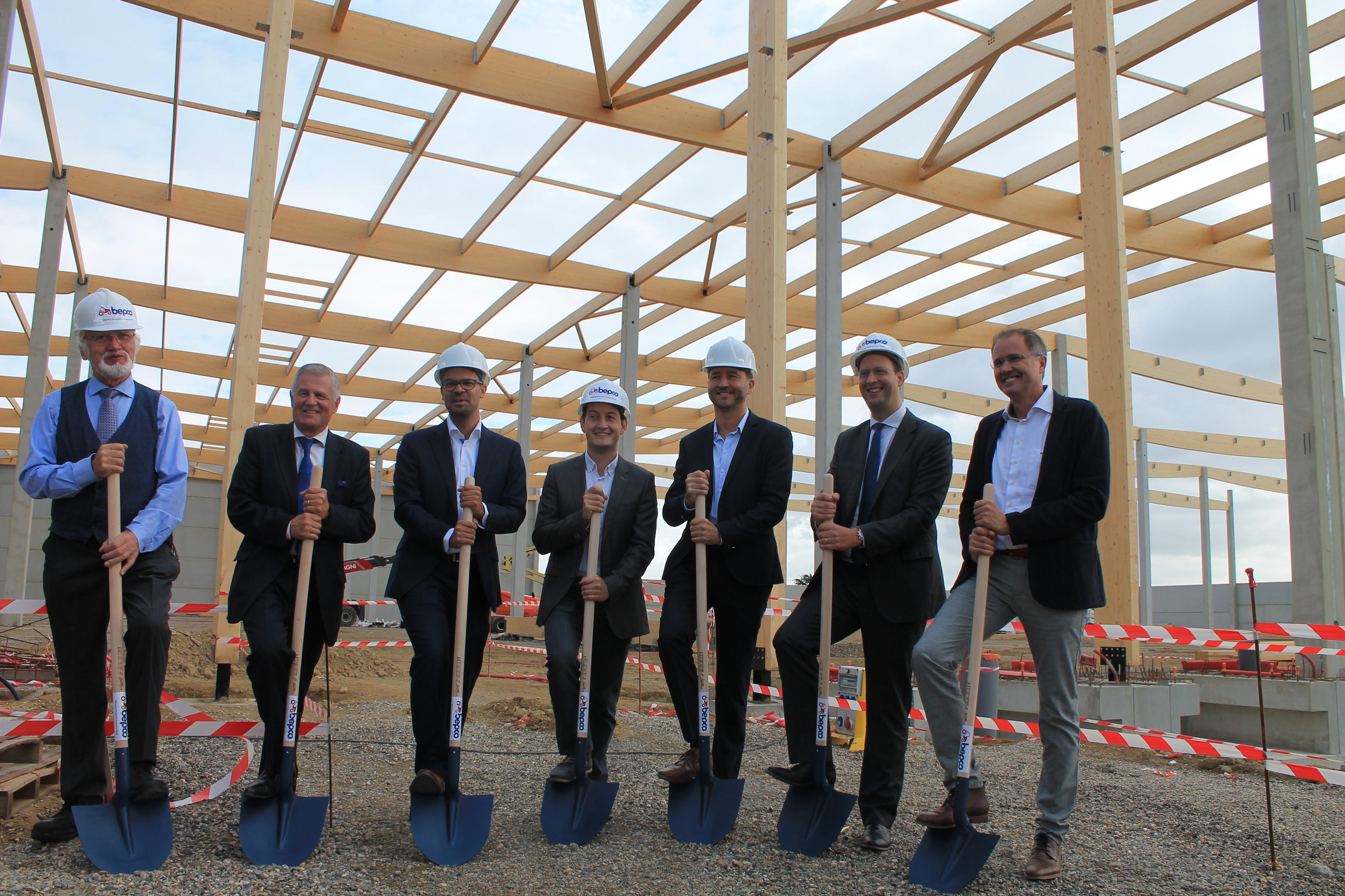 Le nouveau siège des activités du groupe Bepco en France prend forme