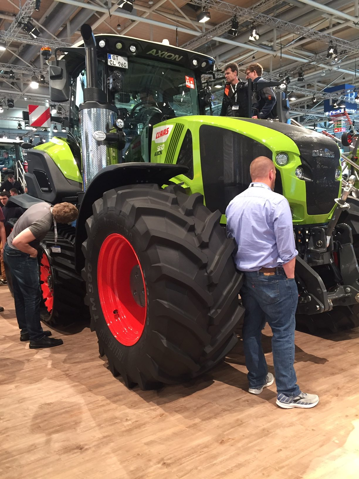 Le point sur la commercialisation du Axion 900 Terra Trac