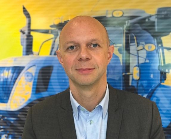 New Holland : Olivier Le Flohic nommé à la tête du marché français