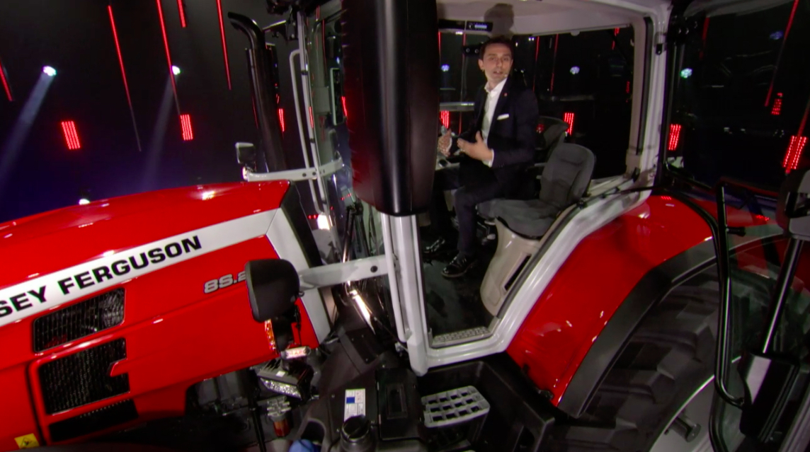 Massey Ferguson lève le voile sur sa nouvelle gamme de tracteurs !